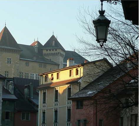le chateau d`Annecy